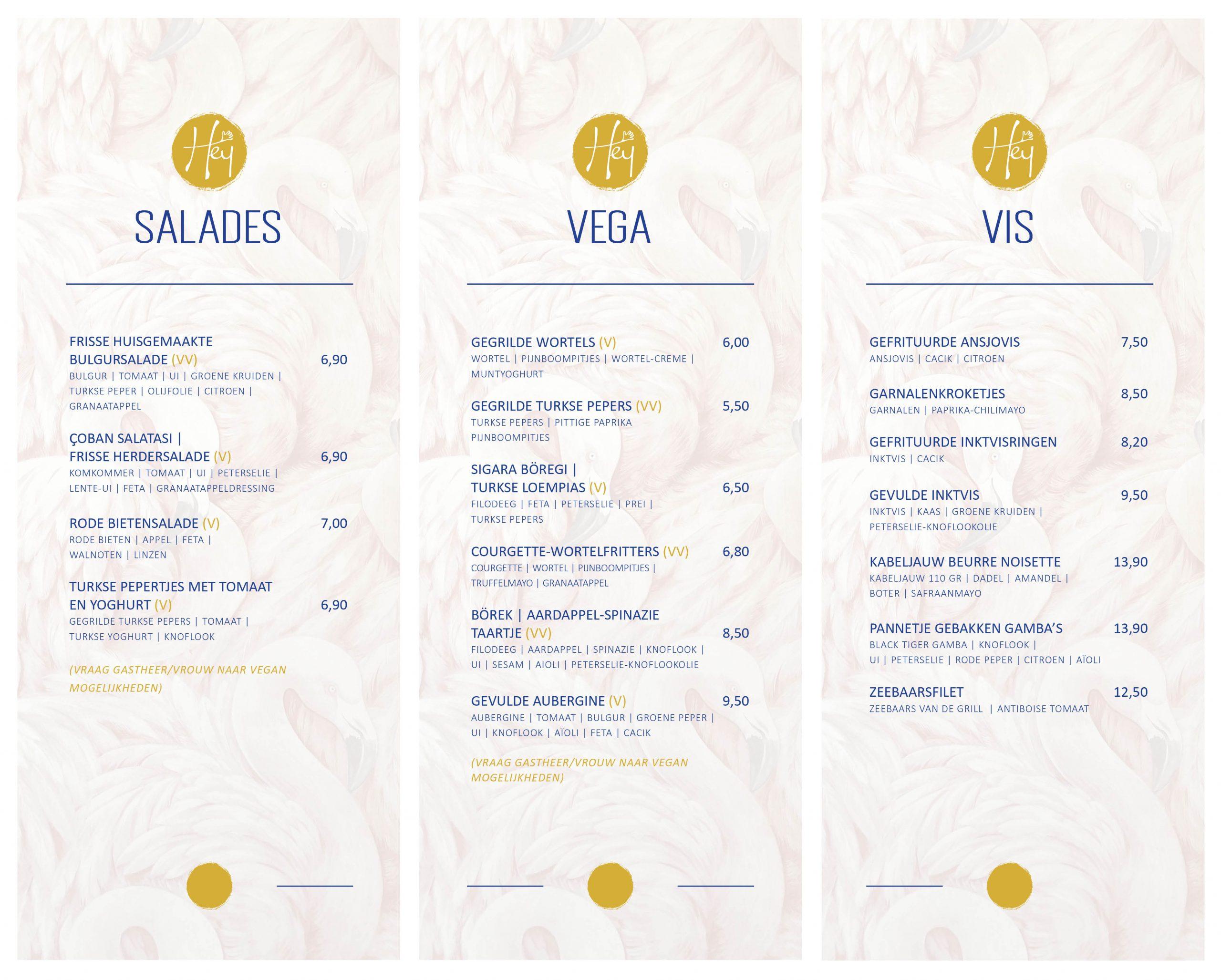 Bekijk de menukaart van Hey-Days Restaurant Eindhoven